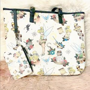 Lounge Tinkerbell Tattoo tote purse bag